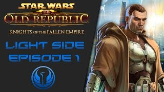 getlinkyoutube.com-SWTOR: Knights of the Fallen Empire (Light Side) - Episode 1 - The Hunt