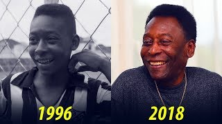 Pelé - Transformation From 1 To 77 Years Old