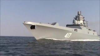 getlinkyoutube.com-Project 22350 Admiral Gorshkov Frigate Russian Navy