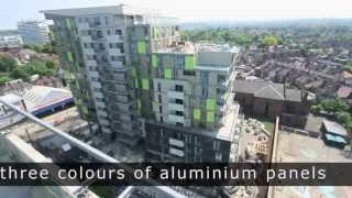 getlinkyoutube.com-Timelapse of high-rise homes near Wembley Stadium