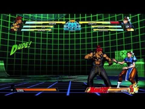 Marvel Vs Capcom 3 hyper Combos Akuma Raging Demon HD 720p Xbox 360