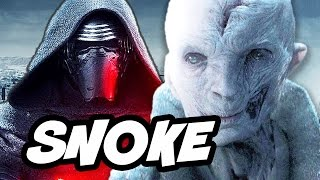 Star Wars Episode 8 The Last Jedi Snoke Princess Leia Backstory and Trailer Update