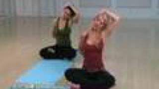 getlinkyoutube.com-Neck and Shoulders Yoga Routine with Deborah York
