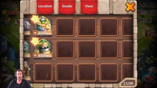7000 Might Brand New Free 2 Play Account Rolling 20k Gems Castle Clash