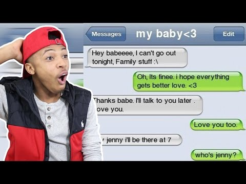 Reacting To The Funniest Cheating Texts!
