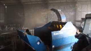 Kidd 450 Baleshredder