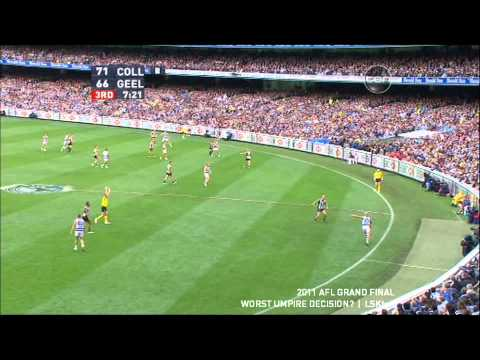 Worst Goal Umpire Decision? - AFL Grand Final 2011