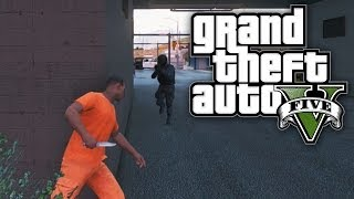 getlinkyoutube.com-GTA 5 THUG LIFE #12 - PRISON BREAK! (GTA V Online)