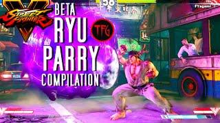 getlinkyoutube.com-SFV Beta #1 - Ryu PARRY Compilation (60fps/1080p)