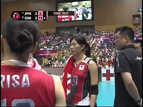 2013 World Grand Prix - Final Round - Japan x China