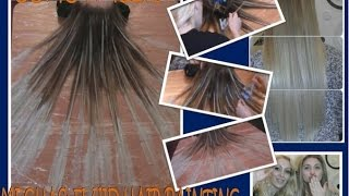 "getlinkyoutube.com-COMO HACER MECHAS ""FLUID HAIR PAINTING"""