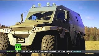 getlinkyoutube.com-RT - Avtoros Shaman 8x8 All-Terrain Vehicle (ATV) [720p]