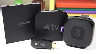 getlinkyoutube.com-Amazon Fire TV vs Apple TV vs Roku 3 vs Google Chromecast - Full Comparison