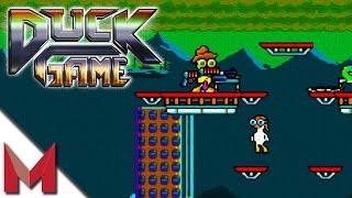 getlinkyoutube.com-I'M A DUCK! OH CRAP! -=- DUCK GAME GAMEPLAY -=- Ep2