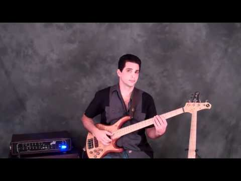 2-Minute Bass Lesson:  Slap Groove  4