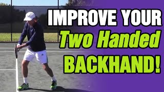 getlinkyoutube.com-How To Improve Your Two Handed Backhand