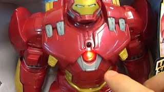getlinkyoutube.com-Iron Man Homem de Ferro boneco do Filme Vingadores: Era de Ultron Avengers: Age of Ultron