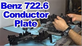 getlinkyoutube.com-Replacing Conductor Plate on  Mercedes Benz 5 Speed 722.6  Automatic Transmission