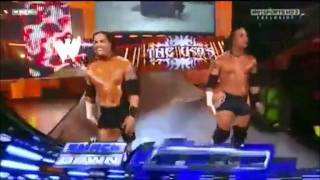 "getlinkyoutube.com-WWE: The Uso's Battle Dance & New Theme Song: ""Polynesian Haka"" - Jimmy & Jay Uso Entrance"