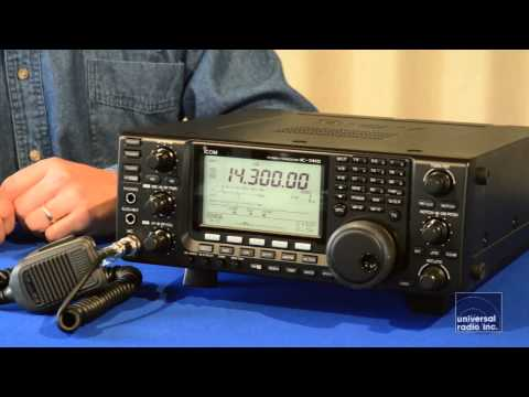 Universal-Radio presents the Icom IC-7410
