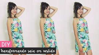getlinkyoutube.com-DIY: Transformando saia longa em vestido   por Bianca Schultz
