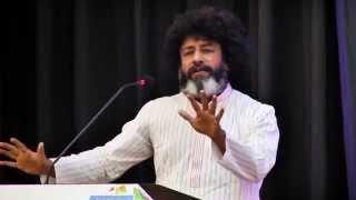 Mahatria Ra the spiritualist wakes up his audience to the 'realities' of life