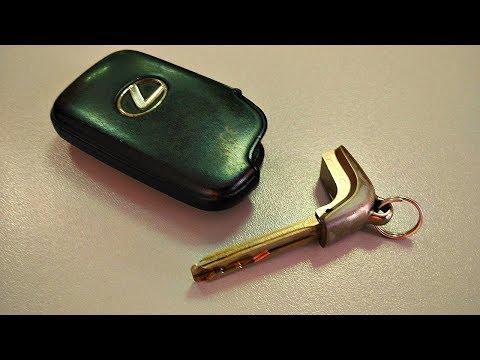 Как заменить батарейку в автомобильном ключе LEXUS LS