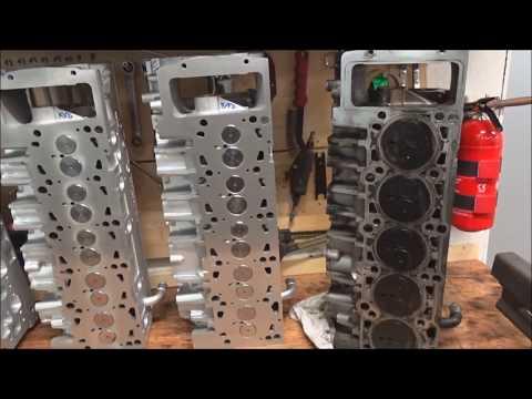 РЕМОНТ ГБЦ VW AXE AXD BNZ VW T5 2.5 TDI НАСОС ФОРСУНКА PD В ГЕРМАНИИ