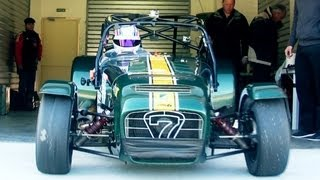 getlinkyoutube.com-CATERHAM R600 - TARMAC RALLY EXTREME