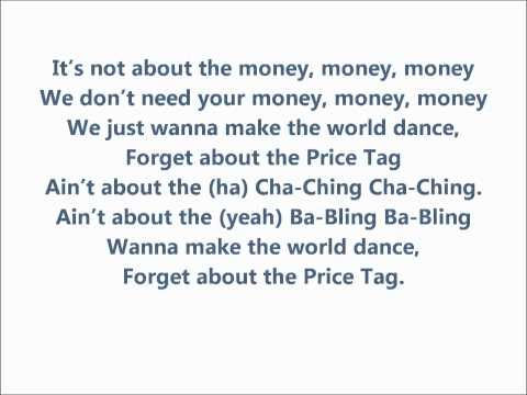 Maddi Jane - Price Tag Lyrics