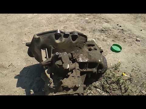 Снятие и замена МКПП F13 Opel Vectra A