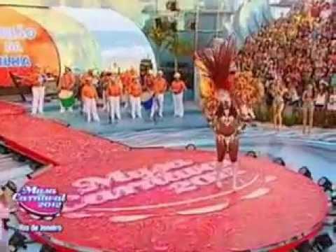 Jurema Marques da União da Ilha no Musa do Carnaval RJ 2012