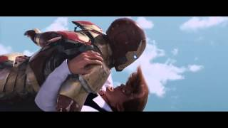 Iron Man 3 - Film Clip - Air Force One Attack | Official HD