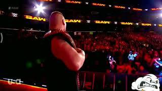WWE Latest 8 Jan 2018 fight Brock Lesnar vs kane vs brown Stroman