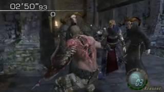 getlinkyoutube.com-Resident Evil 4 - No Way Out Mode - Castle - Krauser (189.840) HQ