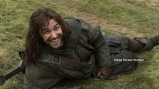 getlinkyoutube.com-Aidan Turner/Kili Clips from The Hobbit DOS Extended Edition