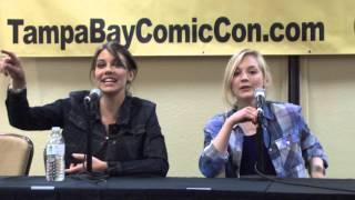 getlinkyoutube.com-The Walking Dead Panel Featuring Emily Kinney & Lauren Cohan