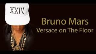 VERSACE ON THE FLOOR - BRUNO MARS Karaoke