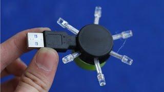 getlinkyoutube.com-How to make a Powerful USB Led Light