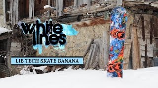 Lib Tech Skate Banana 2015-2016 Snowboard Review