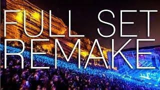 getlinkyoutube.com-Skrillex Live @ Red Rocks Amphitheatre (Full Set Remake)