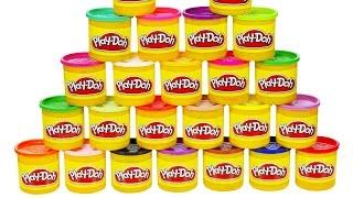 getlinkyoutube.com-Little Kelly - Toys & Play Doh : PLAY DOH SURPRISE (Play Doh, Surprise eggs)