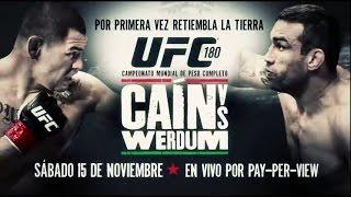 Promo de UFC 180: Retumba la tierra
