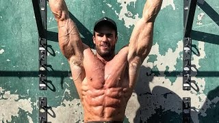 getlinkyoutube.com-He-Man Workout 400 REPS TO DEATH   TWO WEEKS OUT