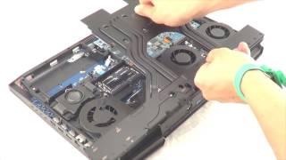 getlinkyoutube.com-NVIDIA GeForce GTX 1080 SLI upgrade in EUROCOM Sky X9E2 Supercomputer Laptop