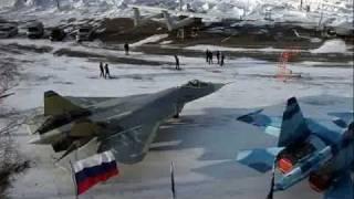 getlinkyoutube.com-ロシア 第五世代戦闘機 pakfa 貴重画像