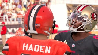 getlinkyoutube.com-Madden 16 (Xbox One) 49ers vs Browns Gameplay