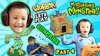 getlinkyoutube.com-Lets Play MY SINGING MONSTERS Part 3!  WUBBOX Time w/ FGTEEV Mega Fan Surprise Box