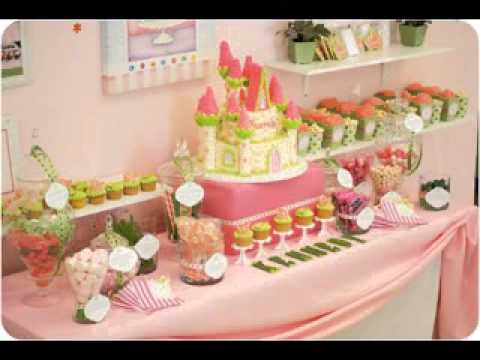 Princess party decoration ideas