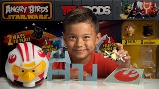 getlinkyoutube.com-DEATH STAR TRENCH RUN - Angry Birds Star Wars II TELEPODS WEEK - Day 1